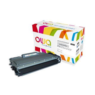 OWA Toner Schwarz, kompatibel zu Brother TN-2220 HL2240,HL2250