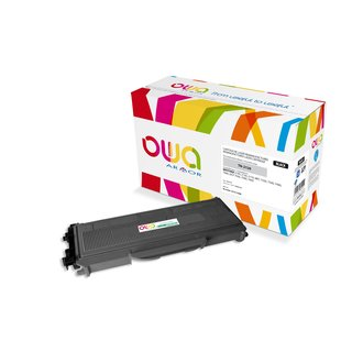 OWA Toner Schwarz, kompatibel zu Brother (TN-2120) HL2140