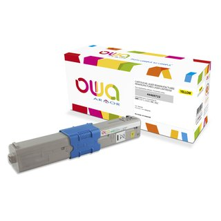 OWA Toner Yellow, kompatibel zu OKI 44469722 C511 / C531 / MC562