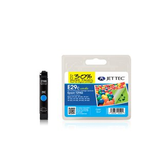 JETTEC Tinte Cyan, Remanufactured zu Epson T2982 XP235