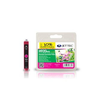 JETTEC Tinte Magenta, Remanufactured zu HP CD973AE Nr.920XL, OJ6500