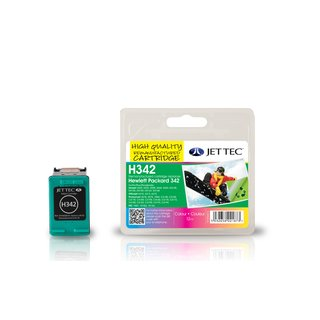JETTEC Tinte 3 Color, Remanufactured zu HP C9361E) Nr.342, PPSC1510